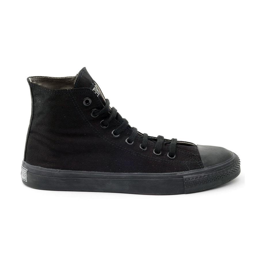 Black Cap Hi Top Sneaker schwarz/ schwarz