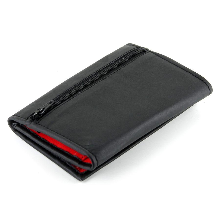 Wallet schwarz/ rot