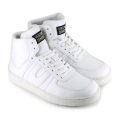 Veg Supreme Hemp Hi Top Sneaker white